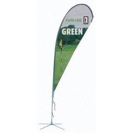 Flying Banner gota, tamaño estándar