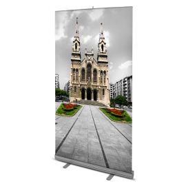 Rollup de alta calidad tamaño 150x200 cm con impresion incluida