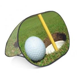 Golf banner de 126 cm plegado